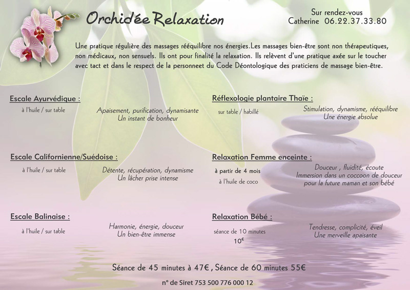 orchidee relaxante